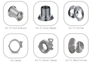 SS Tri Clover Fittings